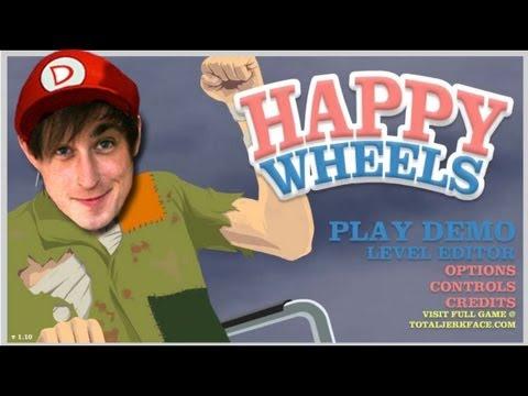 Happy Wheels #61 - OH MY LEG!!! OW!!! OH GOD!!! AHHHHH!!!
