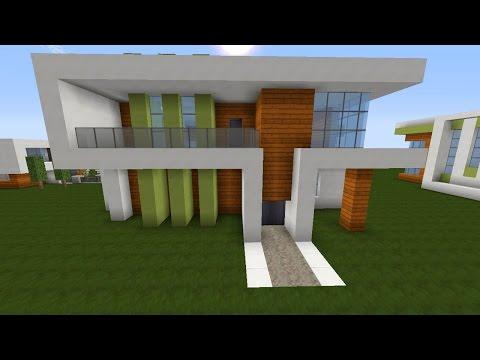 Full download minecraft modernes haus bauen villa for Modernes haus bauen minecraft