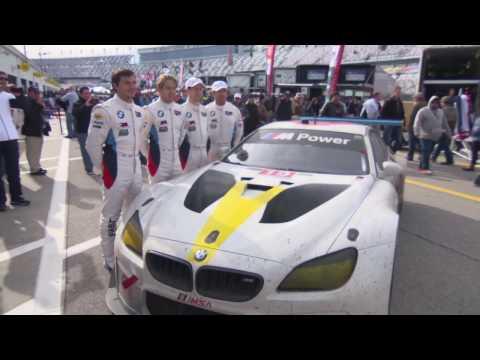 BMW Art Car John Baldessari 24h Daytona 2017 - Final | AutoMotoTV