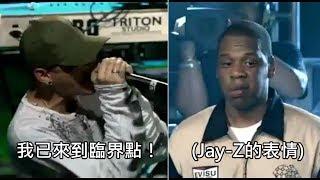 聯合公園主唱查斯特的爆發嘶吼,讓Jay-Z聽了露出佩服的表情 (中文字幕) thumbnail