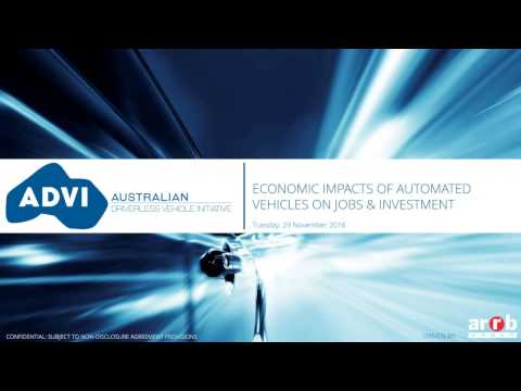Economic Impacts of Automated Vehicles on Jobs and Investment