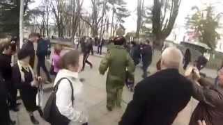 Крымчане встречают гостей