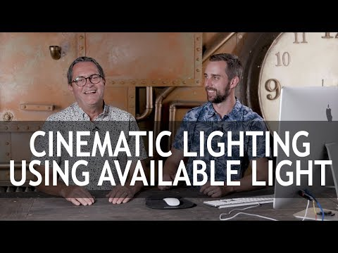 Cinematic Lighting Using Available Light