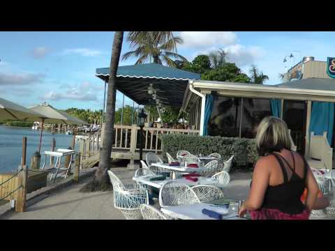 Restaurants on the water are Top Spots in Key Largo