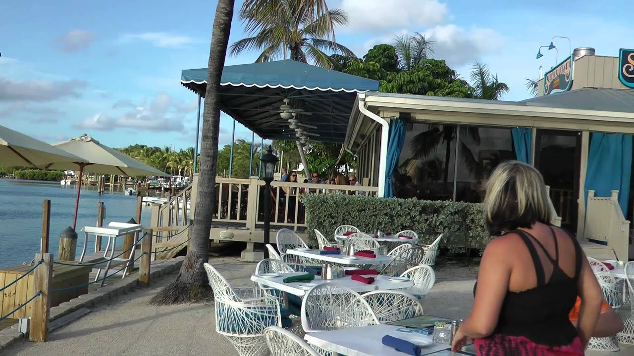 Restaurants on the water are Top Spots in Key Largo  YouTube