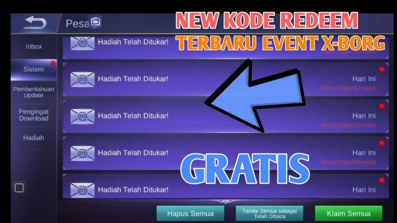 New Code Redeem Mobile Legends - YouTube