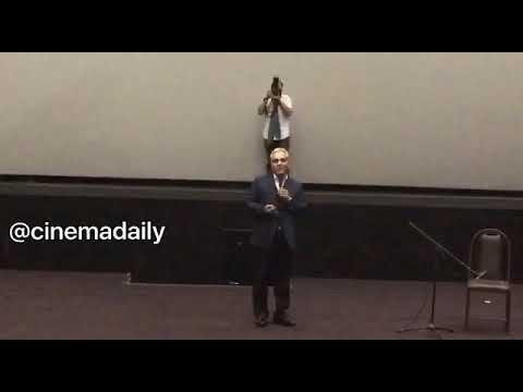 صحبت های مهران مدیری در بزرگ ترین اکران خصوصی تاریخ سینمای ایران / Mehran Modiri saate 5 asr