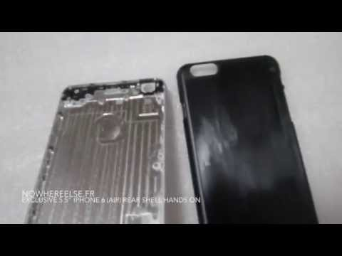 New Video Allegedly Shows Rear Shell for 5.5-inch iPhone 6