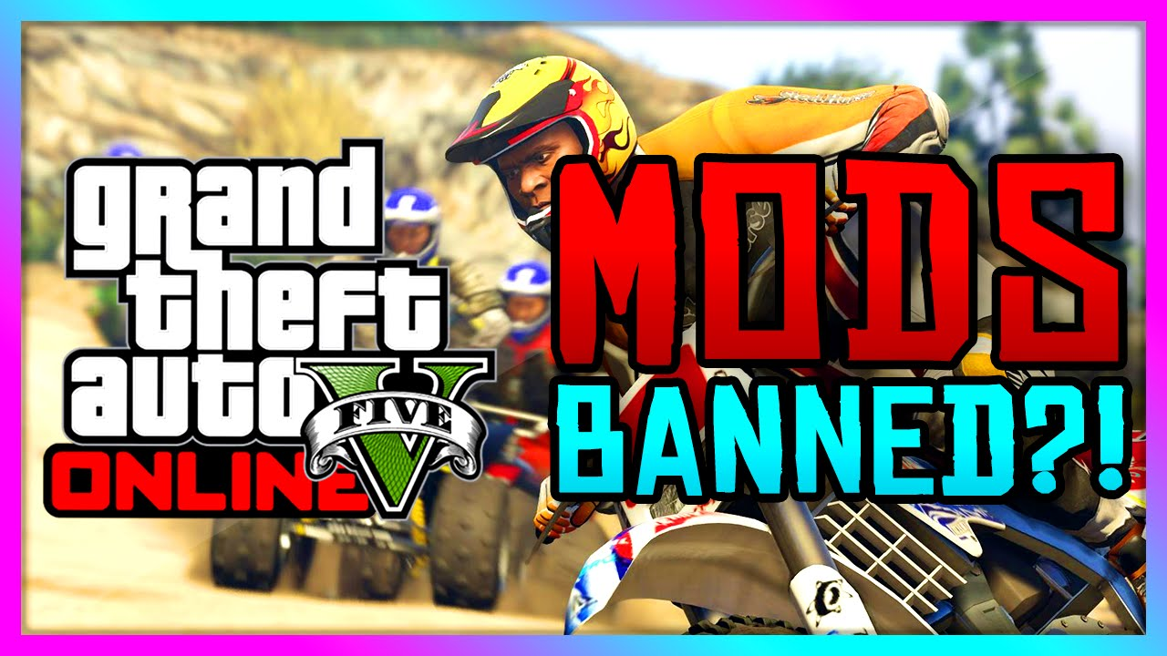 GTA 5 PC - Mods Banned?!   New DRM Policy to Ban Modding? (GTA V Gameplay)