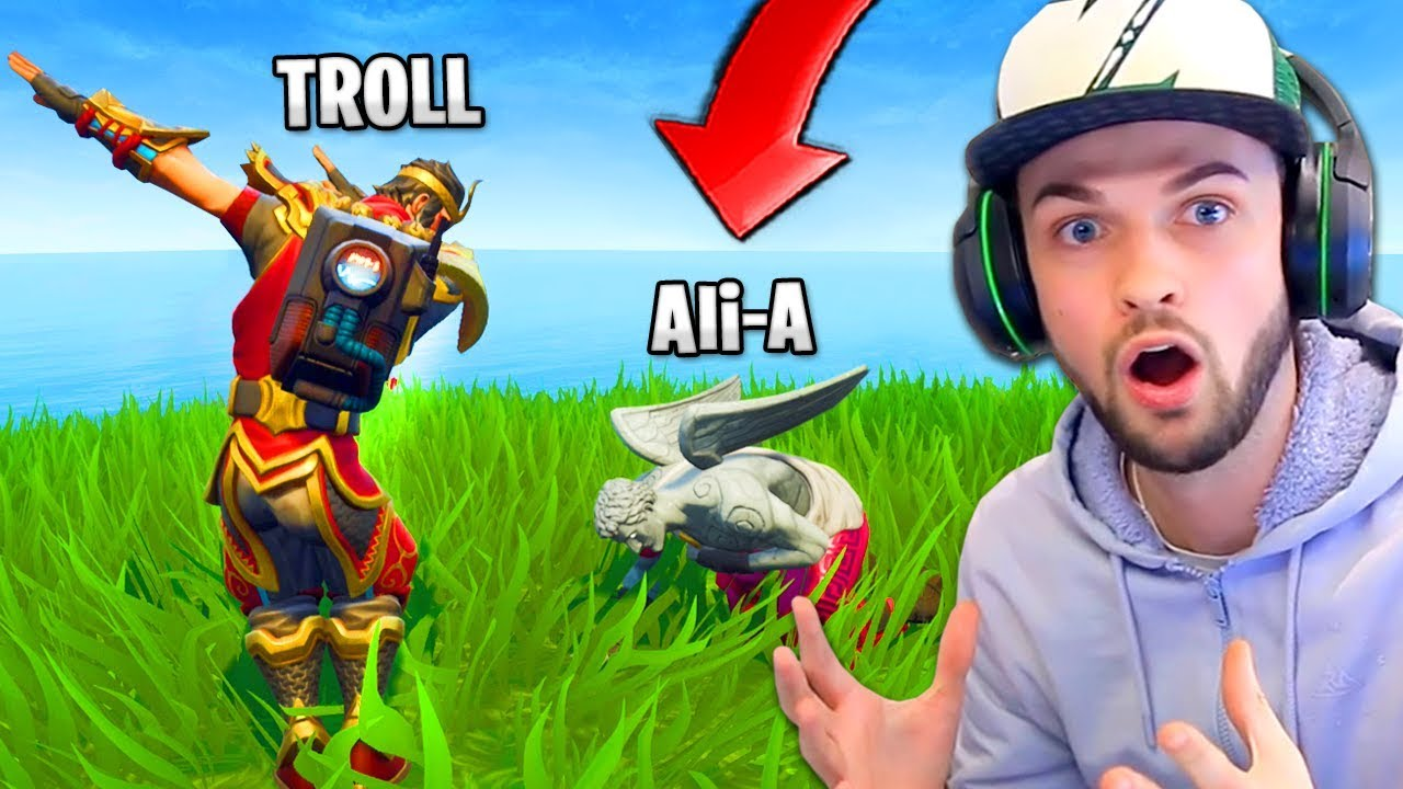 Ali A Trolled By Epic Games Twice In Fortnite Battle Royale
