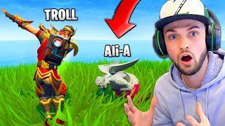 Download Video Ali-A TROLLED BY EPIC GAMES (TWICE)... in Fortnite: Battle Royale! MP3 3GP MP4