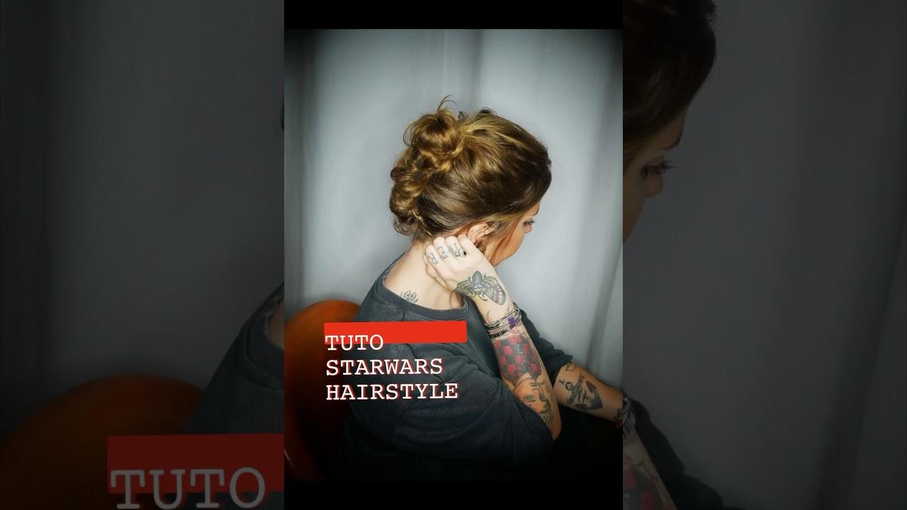 TUTO STARWARS HAIRSTYLE