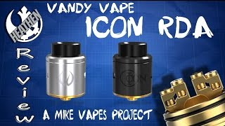 Icon RDA from Vandy Vape I A Mike Vapes Project I Contest I Heathen