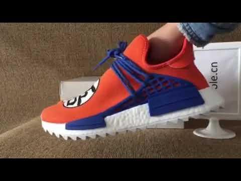 68050b958 Pharrell x nmd goku adidas (mksole.cn) - YouTube