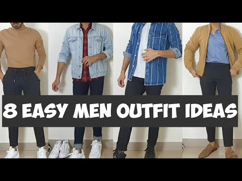 8 Easy Spring Summer Outfit Ideas For Indian Men| Myntra Shopping Lookbook|Zara Men| Outfit Looks