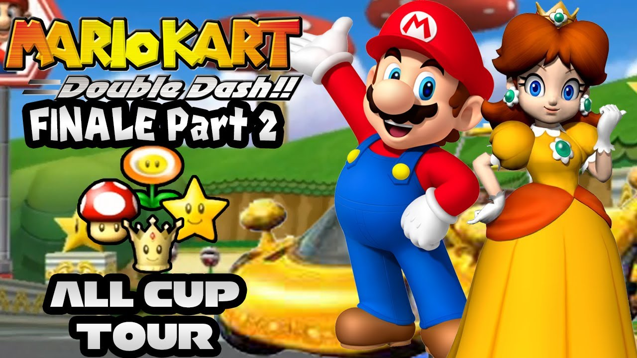 Mario Kart Double Dash: All Cup Tour 150cc Co-op Part 2 ...