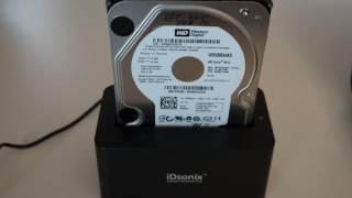 IDsonix SuperSpeed USB 3.0/2.0 To SATA Hard Drive Docking Station iDD-U3102-BK - BizarkDeal