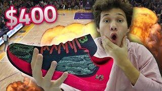 INSANE LAMELO BALL $400 SHOE WAGER!! NBA 2K18 thumbnail