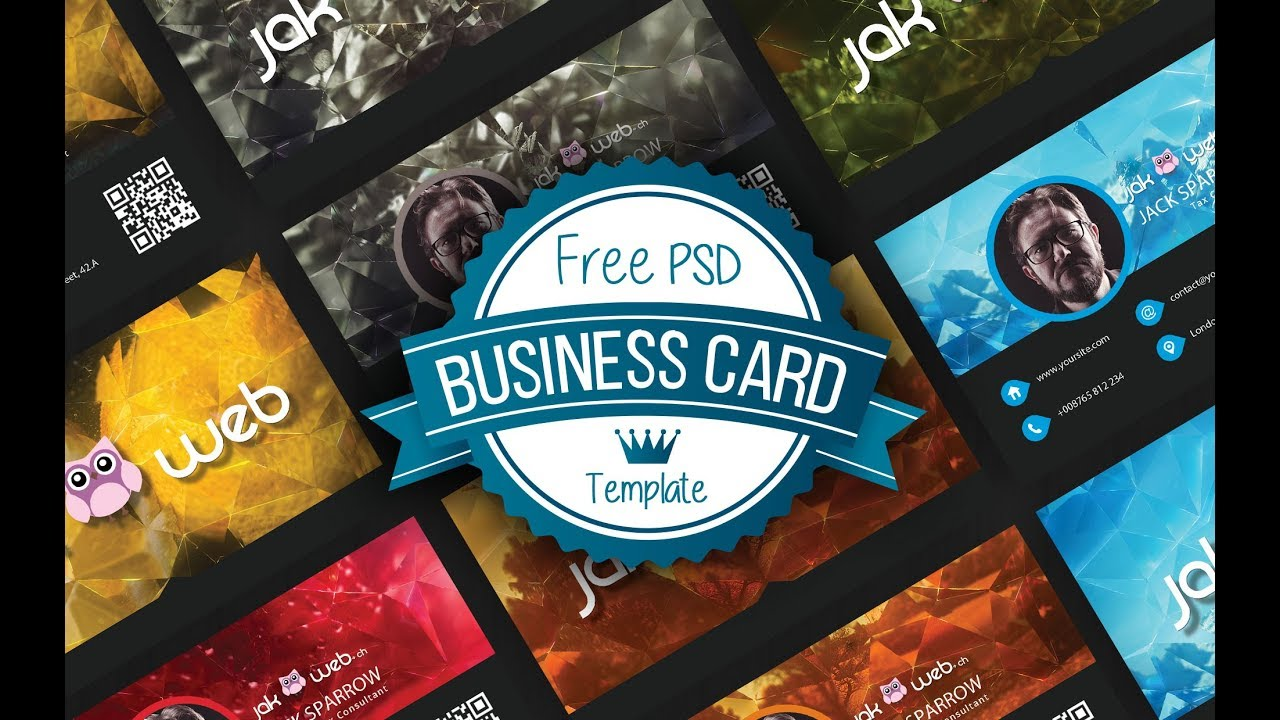 Free photoshop business cards tutorial photoshop method free photoshop business cards tutorial reheart Images