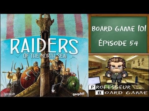 board game 101 ep54 pillards de la mer du nord youtube. Black Bedroom Furniture Sets. Home Design Ideas