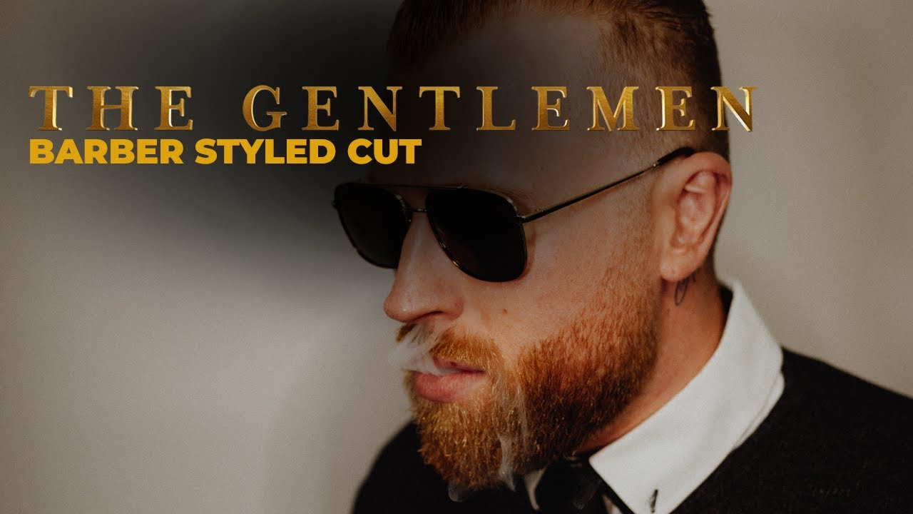 The Gentlemen Charlie Hunnam Barber Styled Haircuts Youtube