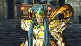 Saint Seiya Soldier's Soul: God Mode Aquarius walkthrough Part 11 [PS4] (English)