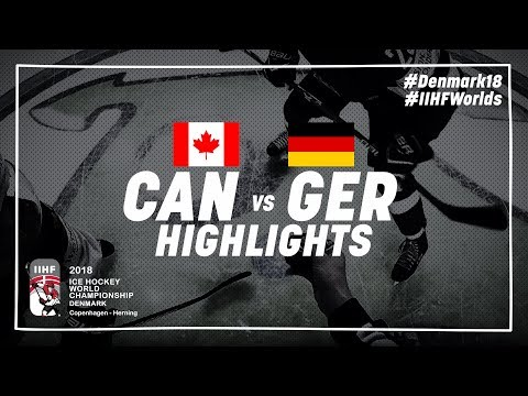 Game Highlights: Canada vs Germany May 15 2018 | #IIHFWorlds 2018