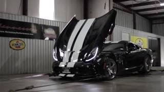 Hennessey Venom 800 Supercharged Dodge Viper Chassis Dyno Testing