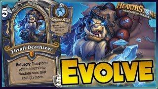 Hearthstone   Best Evolve & Evolution  Funny Rng Moments