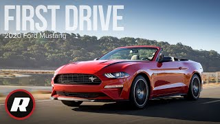 We drive the 2020 Ford Mustang with the high-performance package - 4K