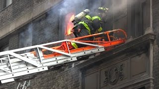 | FDNY: 10-77 Box 809 | Fire 3rd floor of 20 story high-rise on 45th Street and Lexington Ave.