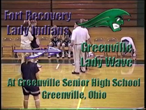 Fort Recovery Lady Indians at Greenville Lady Wave GBB 12 20 1997