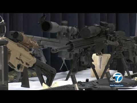 Temple City man, daughter found with stockpile of illegal weapons | ABC7