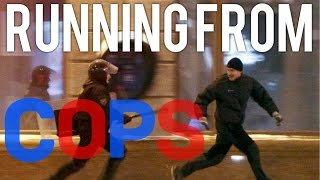 Running from Cops Compilation!