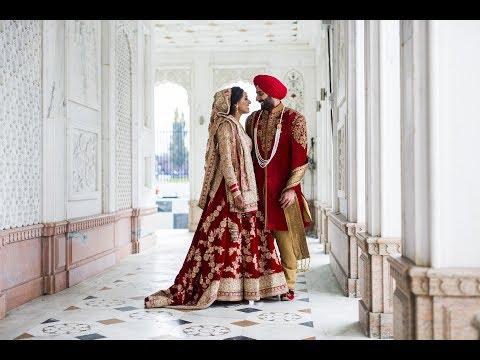 Mandy and Vik | Sikh Wedding 2017 at Gravesend Gurdwara and O2 Intercontinetal