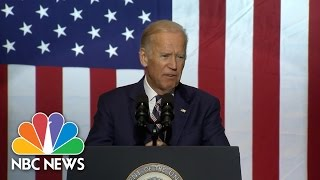 Joe Biden Wants To Know 'What In The Hell' Donald Trump Is Talking About | NBC News
