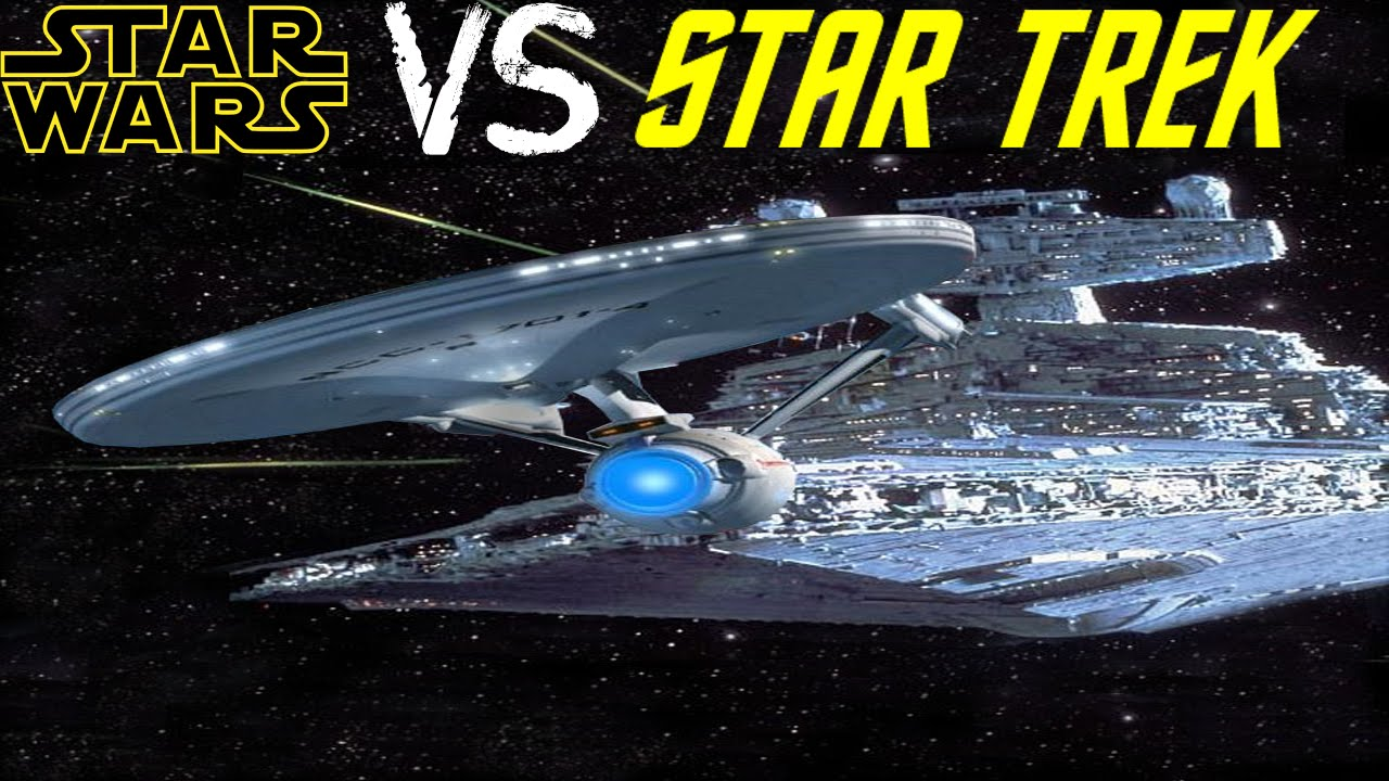 Resultado de imagen para star trek vs star wars
