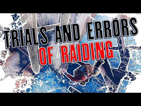 The Hilarious TRIALS AND ERRORS of RAIDING in RUST | Rust Survival Gameplay