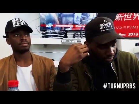 #TURNUPRBS Interview THE SHIN SEKAÏ