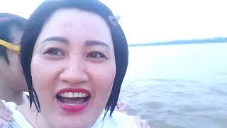 Lần đầu tiên Chị silent sea Tắm Ở sông Hồng - Bơi Thi Ở Sông Hồng