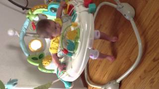 Fisher Price Animal Krackers Jumperoo -Arianna.MOV