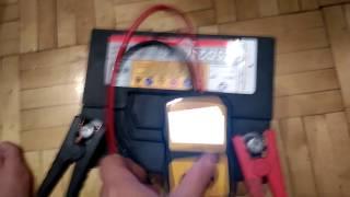 Проверка пускового тока на АКБ Delkor D23L 75 Ач