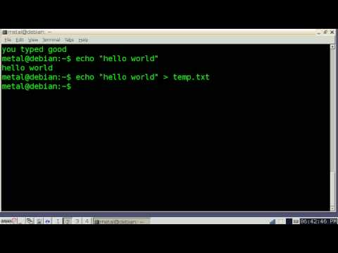 Learn Bash Scripts - Tutorial - YouTube
