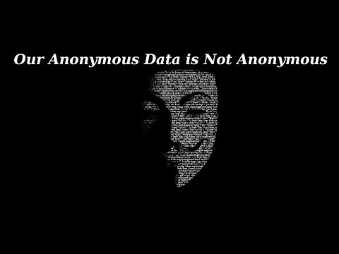 Our Anonymous Browsing Data is Not Anonymous
