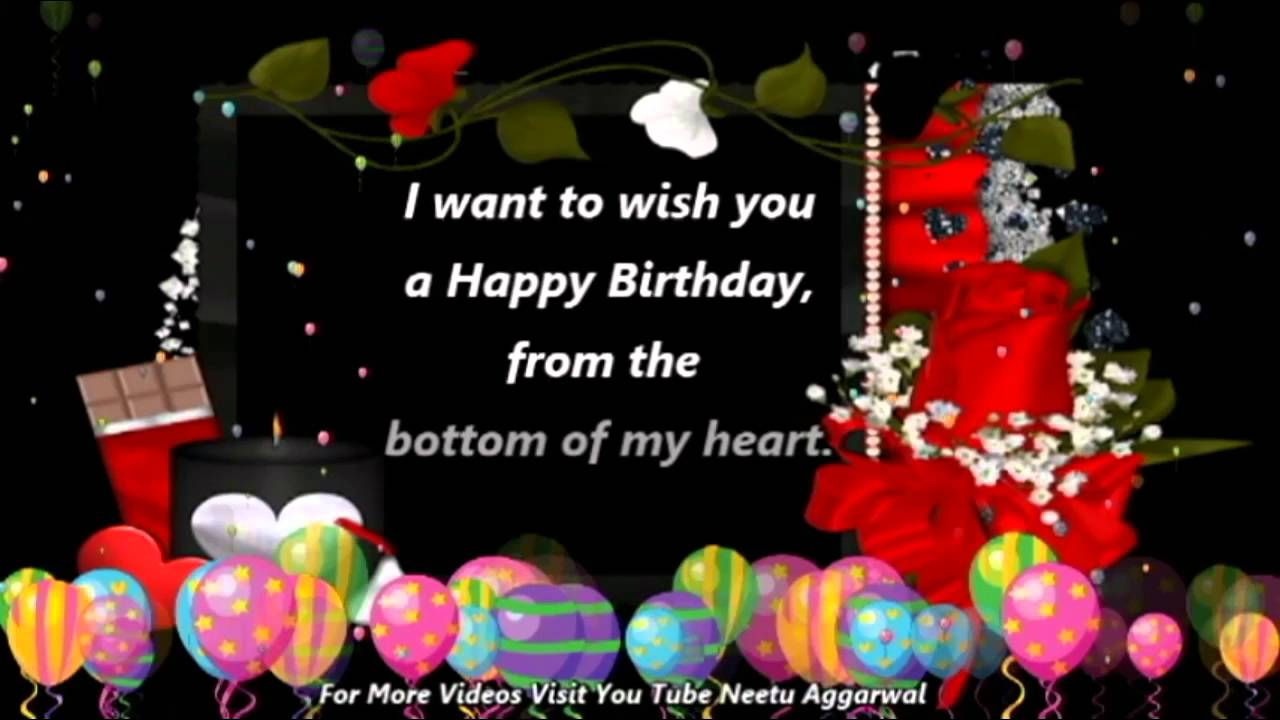 Happy birthday wishesgreetingsquotessmssayinge cardwallpapers youtube premium m4hsunfo