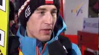 Kamil Stoch  Zakopane 21014 wywiad 19 01 2014 wywiad