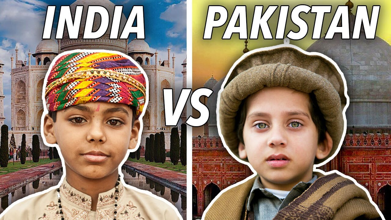 Local Life in India vs Pakistan: 14 Major Differences in 14 Minutes