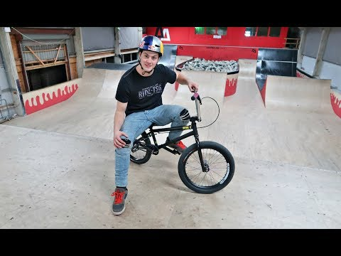 I TRIED RIDING BMX!!
