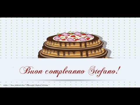 Buon Compleanno Stefano Youtube