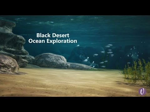 Black Desert Online Underwater Ocean Exploration!